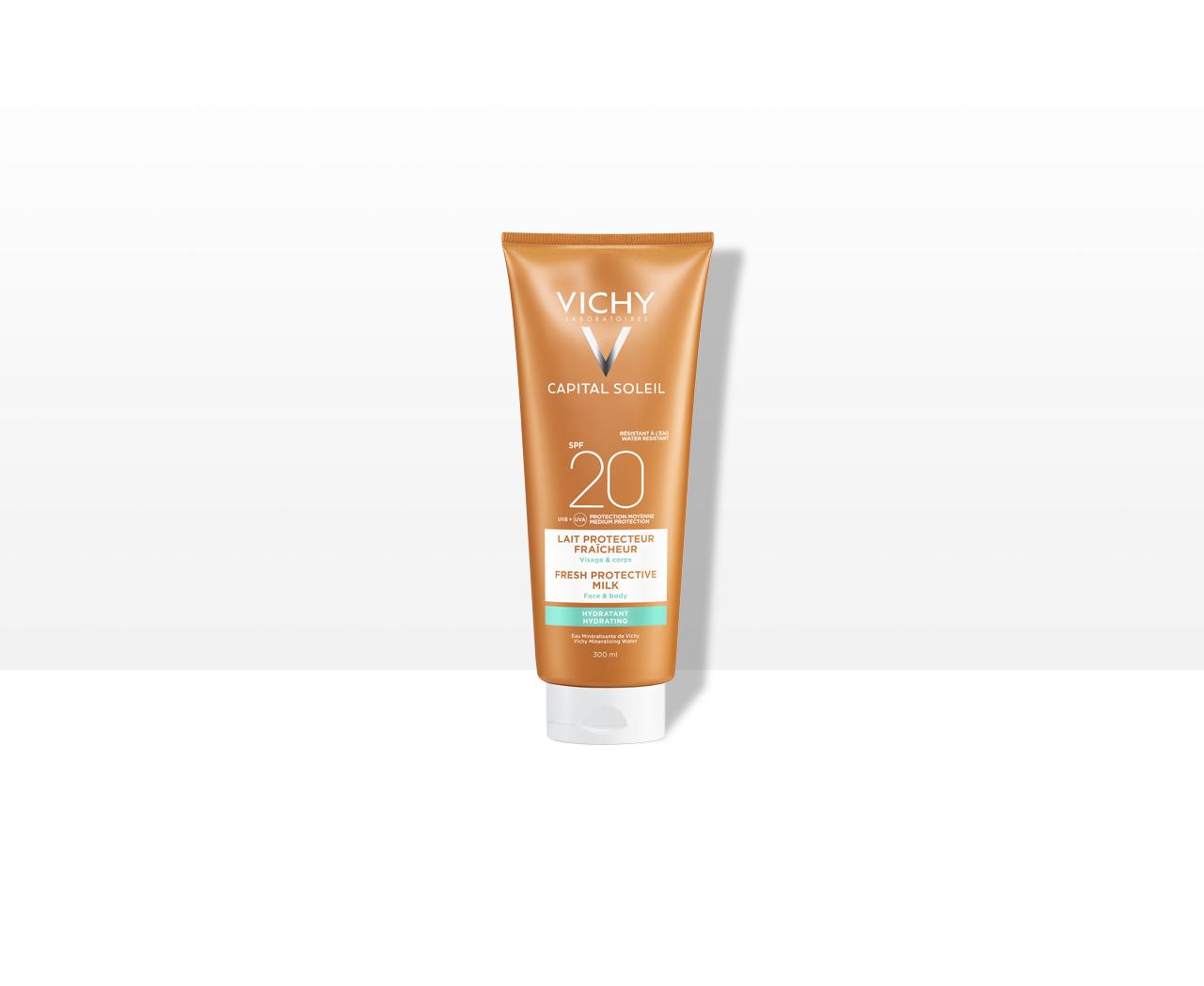 Hidratáló naptej arcra és testre SPF 20