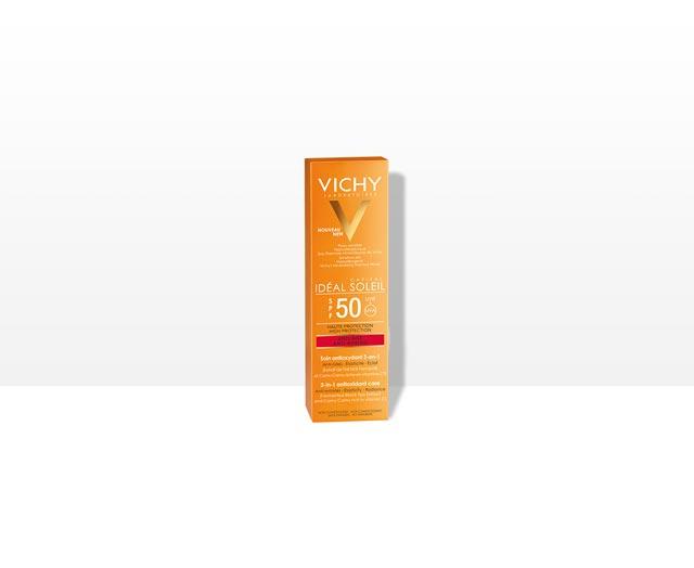 Öregedésgátló,   antioxidáns napvédő krém. SPF 50