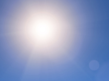Reflektorfényben a formula, amely UV-, ezen belül hosszúhullámú UVA-szűrőt is tartalmaz