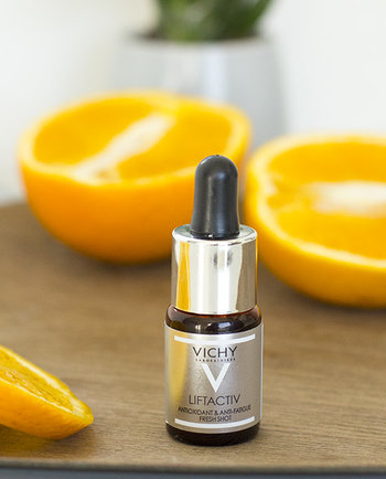 Új Liftactiv Fresh Shot: Antioxidáns intenzív arcápoló fáradtság ellen